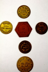 Saloon Tokens, c. 1890-1915