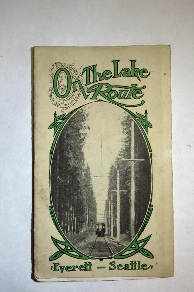 Everett - Seattle Lake Route Map