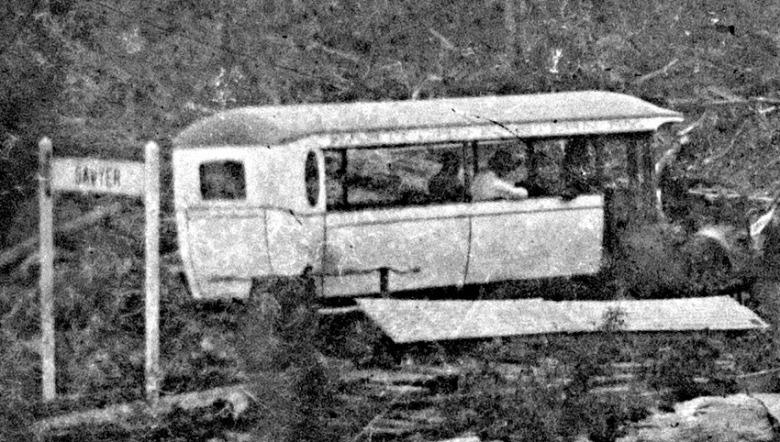 Close up of gas car.