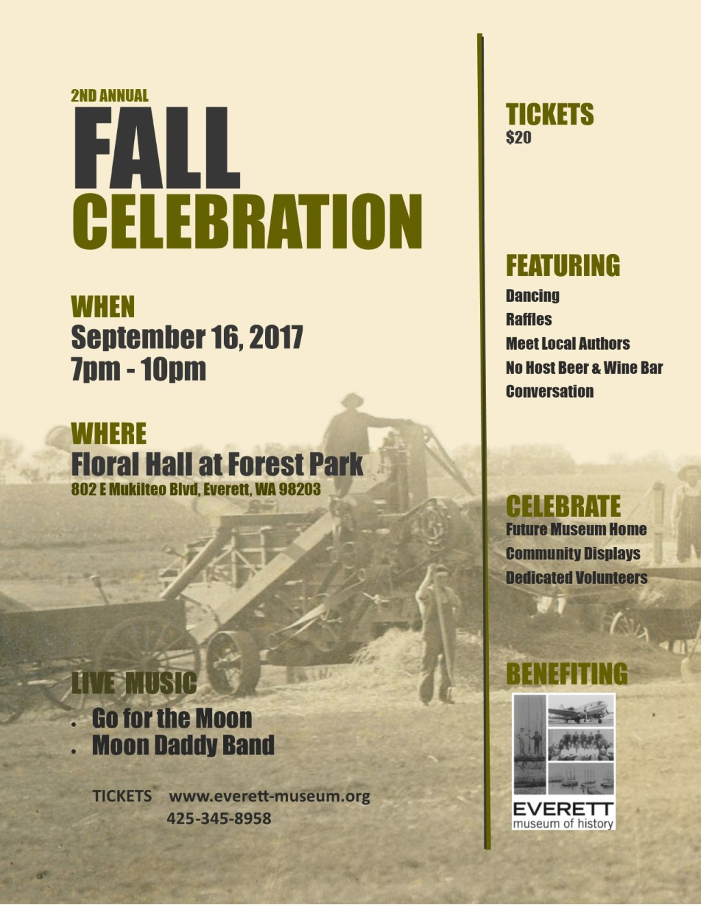 2nd Fall Celebration Flyer