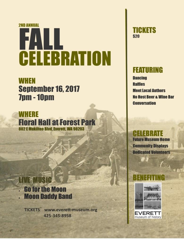 2nd Fall Celebration Flyer